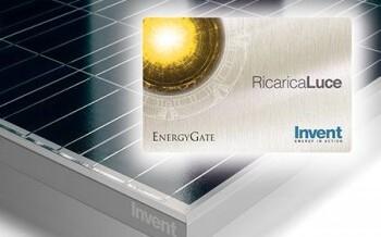 Fotovoltaico: con le ricariche energetiche di Invent nasce l'accumulo virtuale