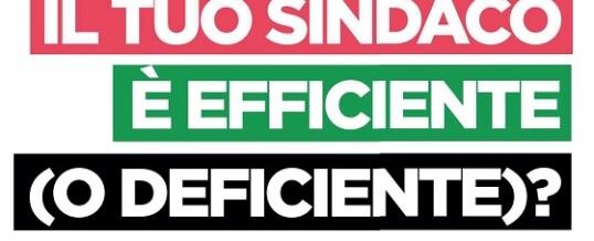 """""""Il tuo Sindaco è efficiente (o deficiente)?"""" Manuale per cittadini e amministratori"""