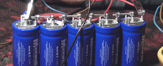 Auto elettriche con i supercondensatori